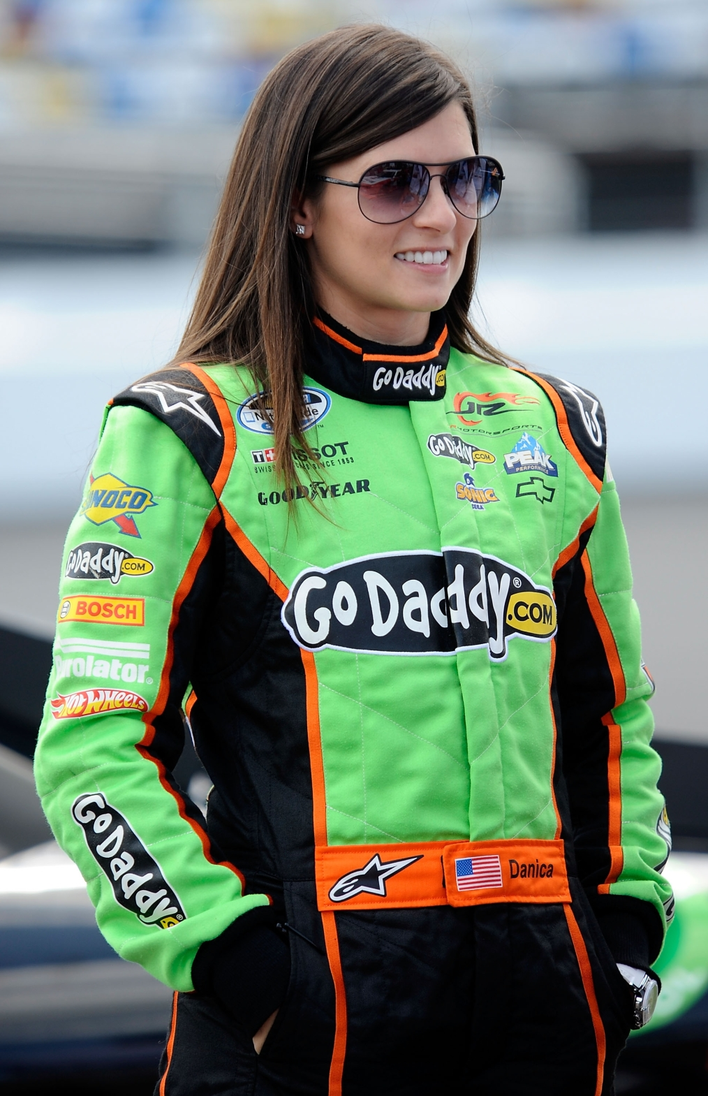 Danica Patrick added to Monster Mile Club