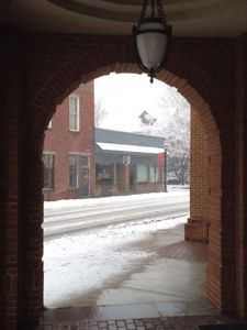 Image Courtesy of Historic Kennett, PA, where snow emergency has been declared.